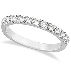 14k Gold Diamond Stackable Ring Anniversary Band in (0.25ct)