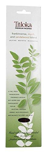 Triloka, Incense Frankincense Myrrh Sandalwood Premium, 10 Gram