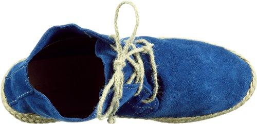 CAFèNOIR LF601 YEL512010 - Sandalias de cuero para mujer Azul (Blau (651 BLUETTE))