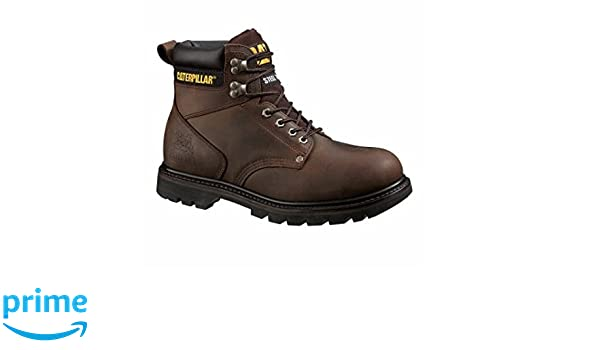 Amazon.com : Caterpillar Mens Second Shift Steel Toe Oiled Full Grain Leather Upper Boots, Size 11.5 : Sports & Outdoors