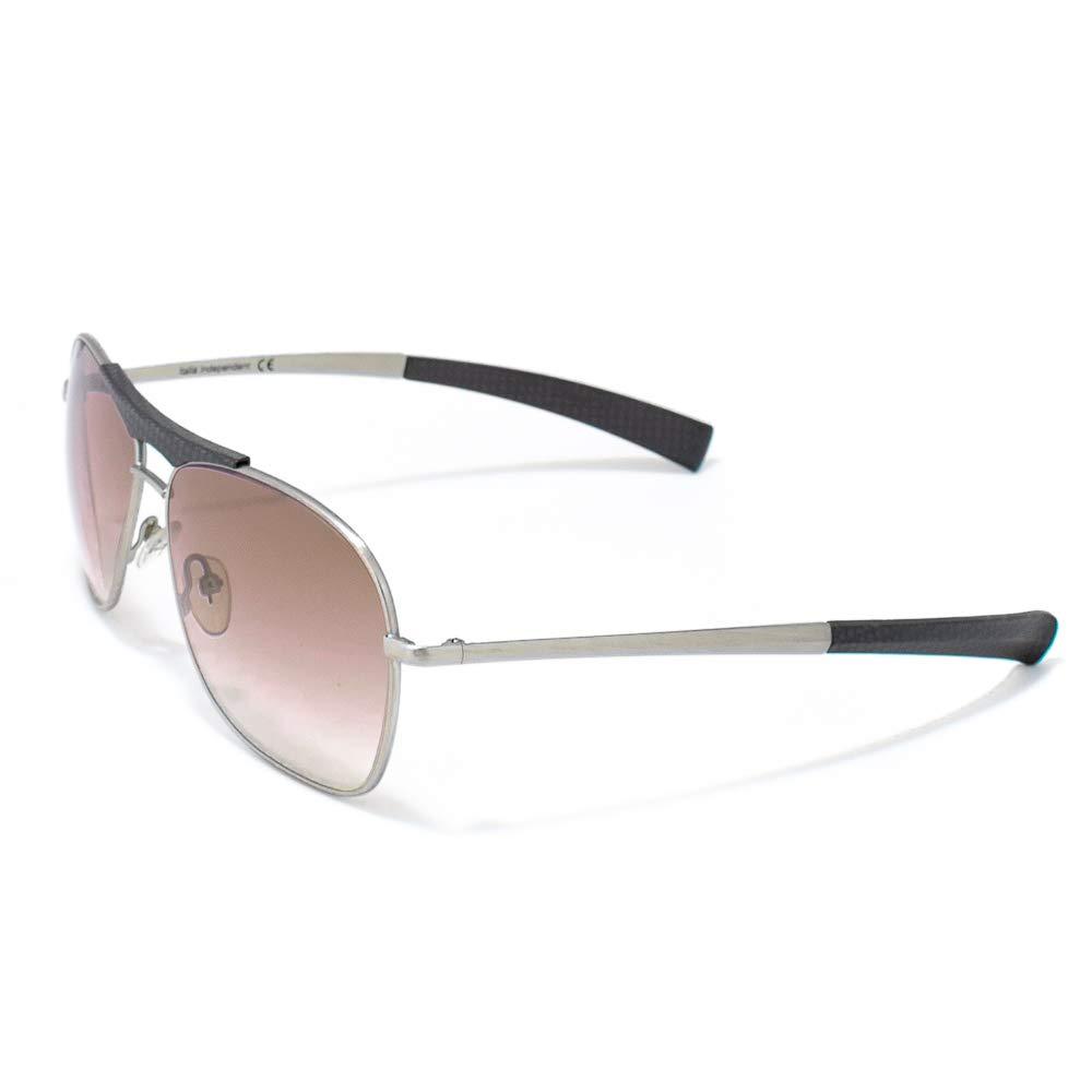 italia independent 0059-073-000 Gafas de sol, Gris, 60 para ...
