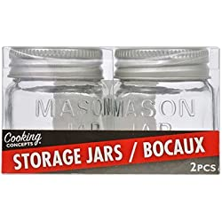 Set of 2 Mini Mason Jars