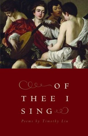 Of Thee I Sing: Poems (The Contemporary Poetry Ser.)