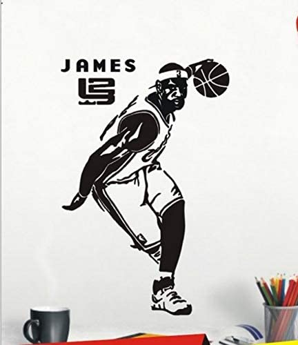 Baloncesto Estrella De La Nba Pegatinas De Pared Lebron James ...
