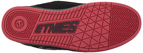Etnies Scarpa Rosso Metal Black Nero Nero Swivel Mulisha Red Black rrdHwx