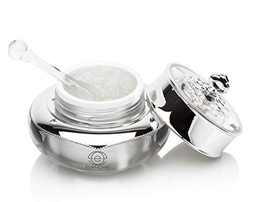 EUPHORIE Chemical Peel Treatment | Platinum Infused Facial Peeling Gel for Face and Skin, Exfoliates, Anti Wrinkle, Removes Age Spots, Dark Circles Under Eyes, Acne 1.7 oz
