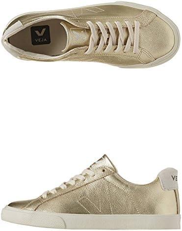 Veja Esplar Leather Sneakers (10) Gold