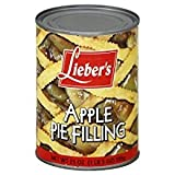Lieber's Apple Pie Filling Gluten Free 21 Oz. Pack Of 3.