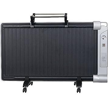 Syntrox Germany GH-2400W - WT Hybrid calefactor con tendedero radiador infrarrojo y de aceite en un calefactor de infrarrojos: Amazon.es: Hogar
