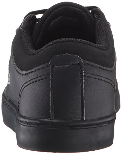 Pictures of Lacoste Unisex Straightset (Baby) Kids Sneaker Black 732SPC0103024 8