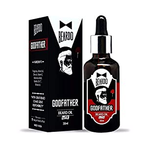 Beardo Godfather Lite Beard and Moustache Oil | Made in India