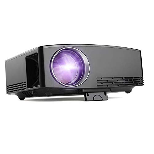 Mini proyector Full HD 1080P LCD 1800 LM Multimedia portátil Home ...