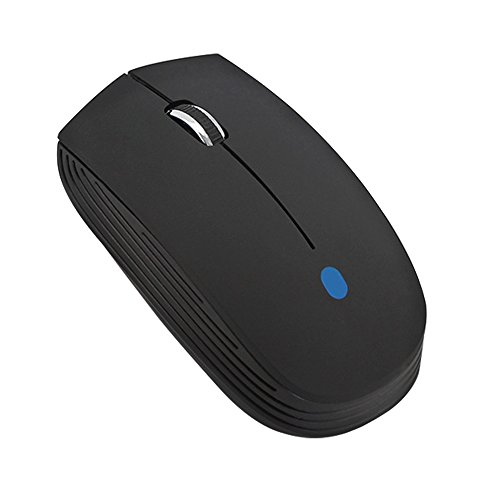 Bluetooth 3.0 Wireless Mouse Mini Portable Ergonomic Optical Gaming Mice 1000/1200/1600 DPI for PC Laptop Computer/Desktop Macbook Mac Notebook/Windows Android Tablet (Black) - 1000 Top Tab