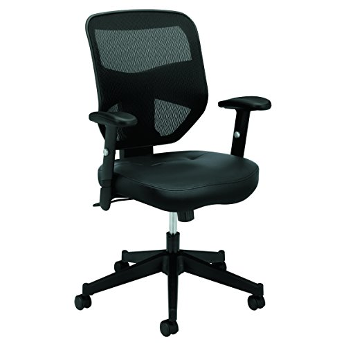 HON Prominent Leather Task Chair - High Back Mesh Work Chair