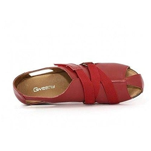 qweeny qweeny Ballerine Rosso donna Ballerine 7wg8RqUx