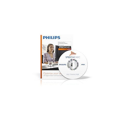 Philips LFH4500 SpeechExec Pro Transcription Software CD-ROM