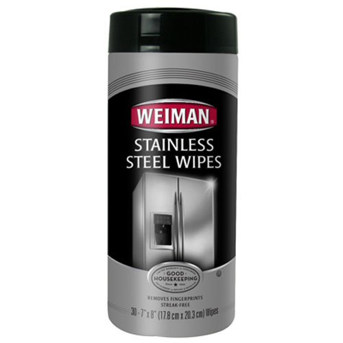 Weiman Stainless Steel Canister Wipes, 3 - Stainless Steel Cleaning Polish Shopping Results