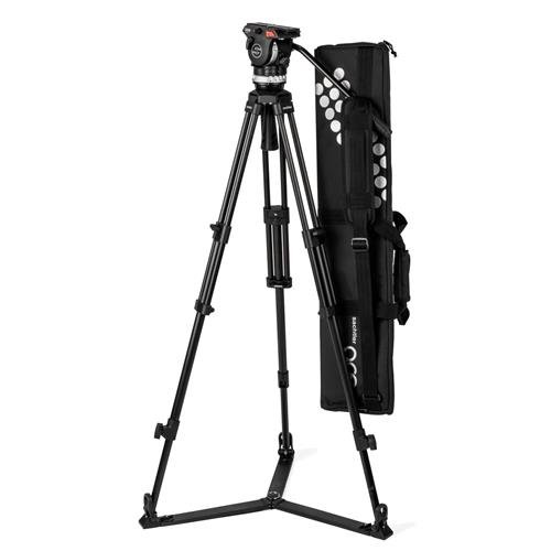 Sachtler Ace XL Tripod System with Aluminum Legs & Ground Spreader for Digital Cine Style and DSLR Cameras ()