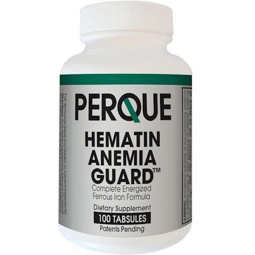 Perque Hematin Anemia Guard, 100 Count