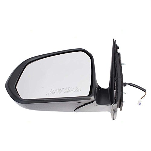 Drivers Power Side View Mirror Heated w/Turn Signal Replacement for 15-17 Hyundai Sonata 87610-C2010 AutoAndArt ()
