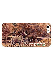 3d Full Wrap Case for iPhone 5/5s Animal Colt