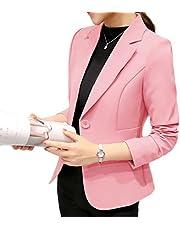ثوب نسائي ماركة DressU لون نقي مع طية صدر صدر صدر السترة مناسبة لأوقات الفراغ