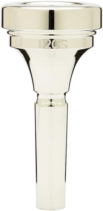 Denis Wick DW5880-12CS Silver-Plated Medium Trombone Mouthpiece