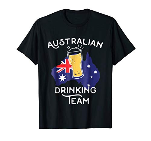 Beer Australia Drinking Team Casual T-Shirt