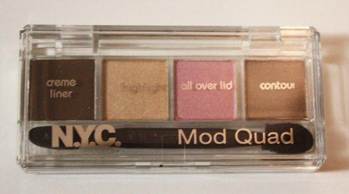 N.y.c. Нью-Йорк Цвет Mod Quad Creme Liner & Тени для век Коллекция далеко Оленята # 855B