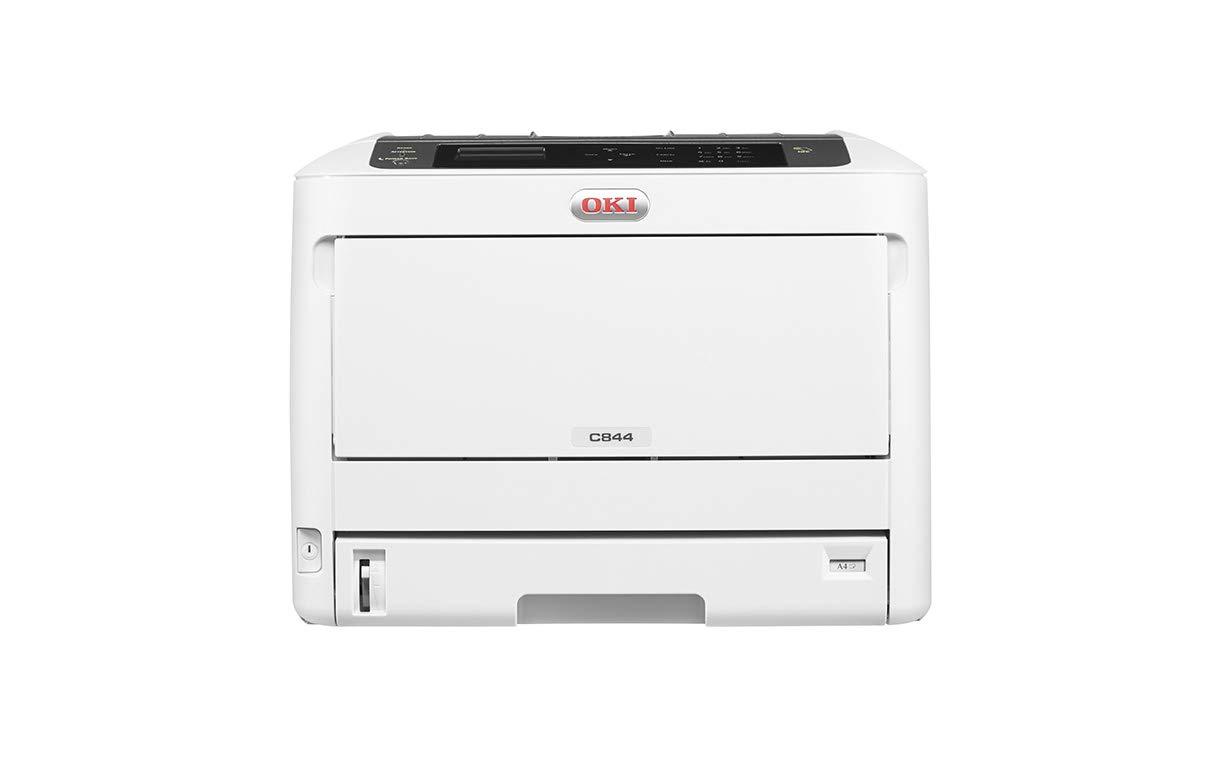 Drucken, A3, 36 Seiten//Min., 1.200x1.200 dpi, LAN, WLAN, Duplexdruck, 5.000 Seiten//Monat, max 75.000 Seiten OKI C844dnw Farbdrucker
