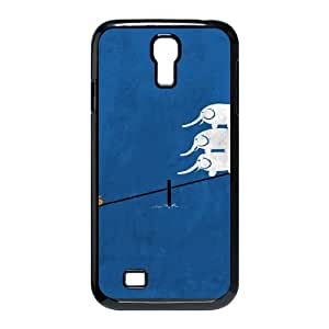 Stevebrown5v elephant duck cute Case For Samsung Galaxy S4 With Unique Design With Black