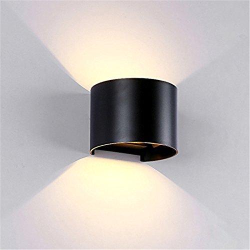 IP65 Waterproof indoor outdoor Led Wall Lamp modern Aluminum Adjustable Garden