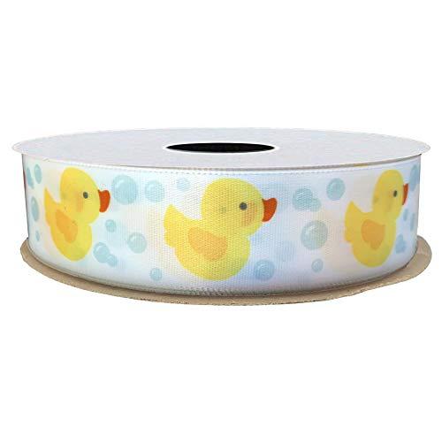 - Rubber Duck Satin Craft Ribbon - 7/8