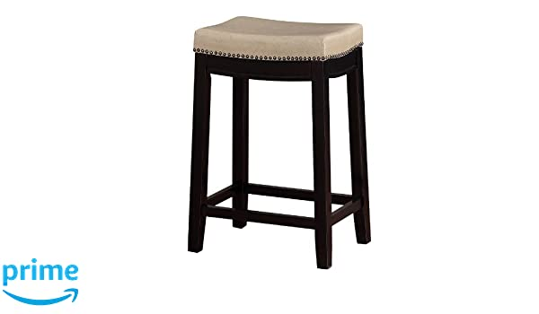 Swell Amazon Com Linon Allure Counter Stool Kitchen Dining Andrewgaddart Wooden Chair Designs For Living Room Andrewgaddartcom