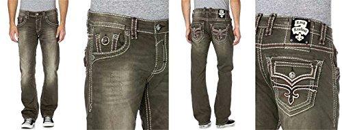 Rock Revival Pantalones Vaqueros Hombre - Mod. Alton ...