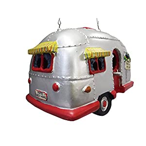 Camper-Birdhouse-Trailer-Bird-House-Airstream-style-Rv-Home-Decor-Yard-Garden-Porch-Patio-Country