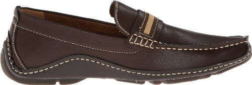 Steve Madden Men's Rollit Slip-On Loafer,Brown,9.5 M US