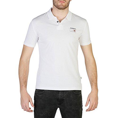 Napapijri Polo Bright White Egegik Blanc Ss 1 RRxdzqwTr