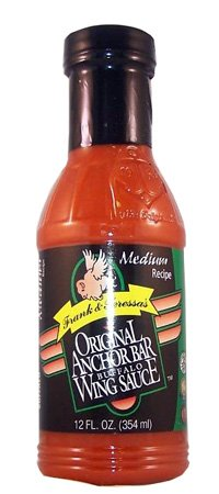 Anchor Bar Frank & Teressa's Original Buffalo Wing Sauce Medium Recipe 12oz