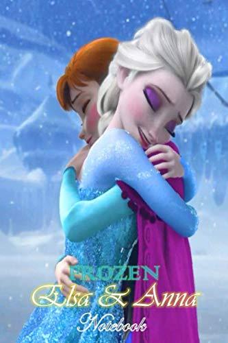 Elsa & Anna: Disney Frozen Themed Sister Goals Notebook Journal 6