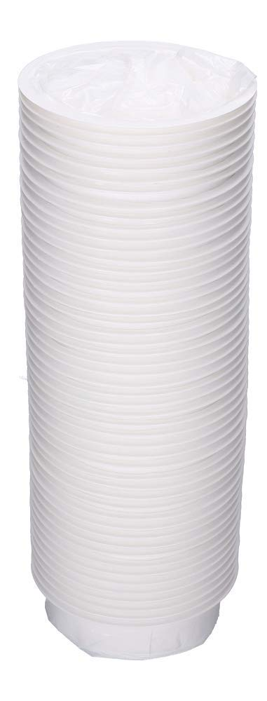 Bolsas para v/ómitos con anillo de cierre 50 unidades color blanco