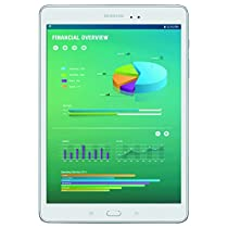 "Samsung Galaxy Tab A with S Pen 9.7""; 16 GB Wifi Tablet (Smoky Titanium) SM-P550NZAAXAR"