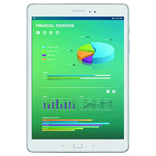 Samsung Galaxy Tab A with S Pen 9.7'; 16 GB Wifi Tablet (Smoky Titanium) SM-P550NZAAXAR