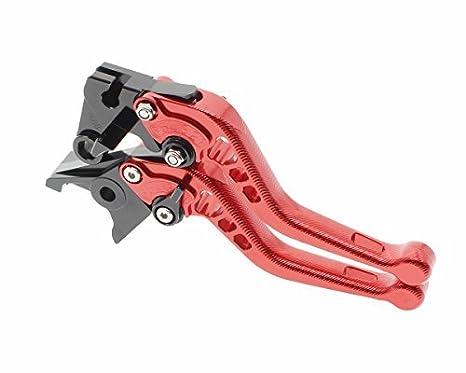 FXCNC Racing CNC Aluminum Short Adjustable Brake Clutch Levers for Kawasaki Z250SL 16-17,NINJA 300R//Z300 13-17,NINJA 250R 08-12,VERSYS 300X 17-18,Ninja 400 2018