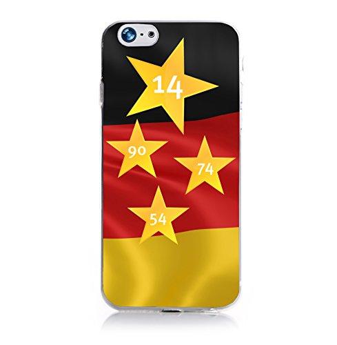 ArktisPRO Deutschland 4 Sterne Case für Apple iPhone 6 Plus