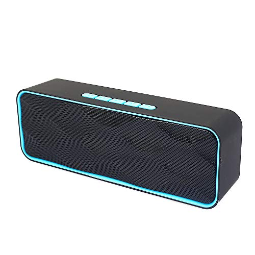 [해외]USB 블루투스 스피커 휴대용 무선 야외 입체 음향 스피커 방수 \\\\ 지원 TF 카드FM 라디오AUX 관계 / USB Bluetooth Speaker Portable Wireless Outdoor Stereo Speaker Waterproof\\\\Support TF Card  FM Radio  AUX Connection