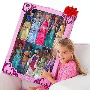 Disney Store Disney Princess 12 Quot Doll Collection Holiday