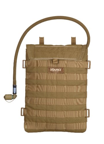 Source Tactical Ultra Slim Razor Advance Mobility 3-Liter Hydration Pack (Coyote)
