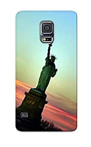 New Arrival Premium S5 Case Cover For Galaxy (statue Of Freedom)