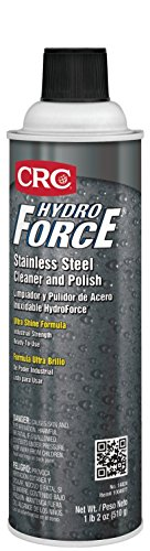 CRC HydroForce Stainless Steel Cleaner and Polish (Crc Hydroforce Degreaser)